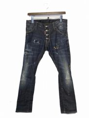 DSQUARED2(ディースクエアード2)の古着「ペイント加工デニムパンツ」