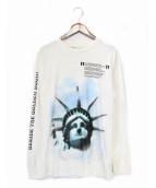 OFFWHITE(オフホワイト)の古着「長袖Tシャツ」|ホワイト