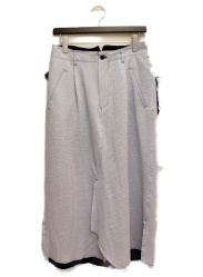 sulvam(サルバム)の古着「レイヤードスカートパンツ」