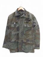 roar(ロアー)の古着「ミリタリーシャツジャケット」