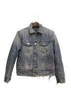 AMIRI(アミリ)の古着「リバーシブルデニムジャケット」|インディゴ