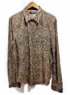 AMIRI(アミリ)の古着「レオパードシャツ」|ブラウン