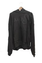 AMIRI(アミリ)の古着「グリッタースネークパーカー」|ブラック