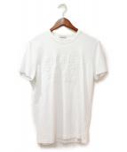 MONCLER(モンクレール)の古着「18SS/ ロゴTシャツ」|ホワイト