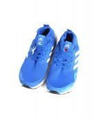 adidas(アディダス)の古着「ハイカットスニーカー」|ブルー