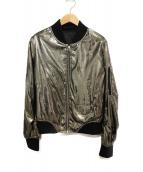 CHROME HEARTS(クロムハーツ)の古着「ダガージップブルゾン」|ゴールド