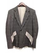 sulvam(サルバム)の古着「18AW/チェックジャケット」