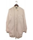 COMME des GARCONS HommePlus(コムデギャルソンオムプリュス)の古着「異素材ロングシャツ」