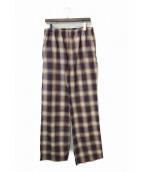 FAITH CONNEXION(フェイスコネクション)の古着「チェックパジャマパンツ」