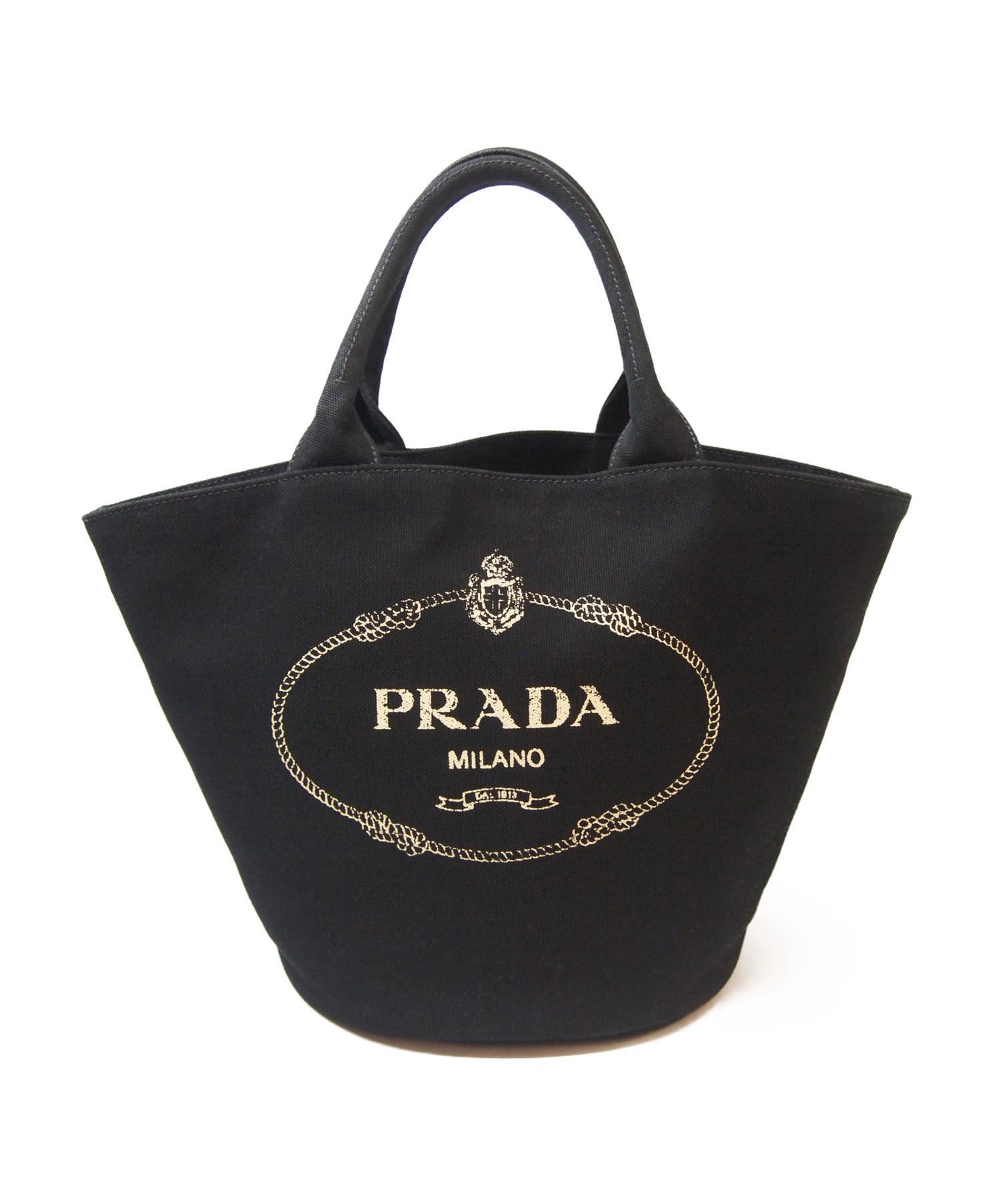 big sale 986ca d5952 [中古]PRADA(プラダ)のレディース バッグ 18SS/カナパ/トートバッグ