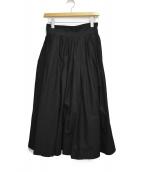 YOHJI YAMAMOTO(ヨウジヤマモト)の古着「フレアスカート」|ブラック