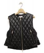 noir kei ninomiya(ノワール ケイニノミヤ)の古着「キルティングベスト」|ブラック