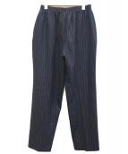 CellarDoor(セラドール)の古着「イージーパンツ」|ネイビー