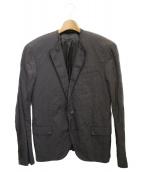 LANVIN(ランバン)の古着「デザインジャケット」 ネイビー