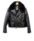 noir kei ninomiya(ノワール ケイ ニノミヤ)の古着「AD2018/キルティングジャケット」|ブラック