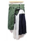 sacai(サカイ)の古着「切替スカート」