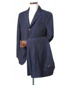 LARDINI(ラルディーニ)の古着「セットアップスーツ」 ネイビー