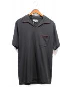 YOHJI YAMAMOTO(ヨウジヤマモト)の古着「ポロシャツ」|ブラック