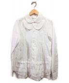 COMME des GARCONS COMME des GARCONS(コムデギャルソン コムデギャルソン)の古着「ギャザーシャツ」
