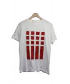 N.HOOLYWOOD(エヌハリウッド)の古着「プリントTシャツ」|ホワイト×レッド