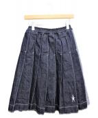 MARNI(マルニ)の古着「18AW/デニムプリーツスカート」