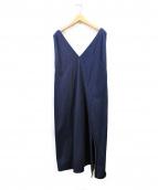 MM6(エムエムシックス)の古着「ノースリーブワンピース」|インディゴ