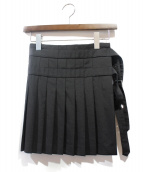 COMME des GARCONS HommePlus(コムデギャルソンオムプリュス)の古着「巻きスカート」|ブラック