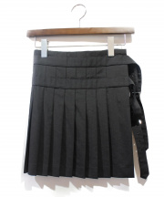 COMME des GARCONS HommePlus(コムデギャルソン オムプリュス)の古着「巻きスカート」|ブラック