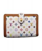 LOUIS VUITTON(ルイ・ヴィトン)の古着「ポルトモネビエヴィエノワ/2つ折り財布」|ホワイト