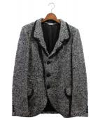 COMME des GARCONS Homme Plus(コムデギャルソンオムプリュス)の古着「テーラードジャケット」 グレー