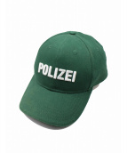 VETEMENTS(ヴェトモン)の古着「POLIZEI キャップ」 グリーン