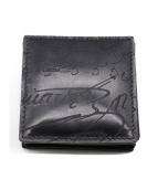 Berluti(ベルルッティ)の古着「カリグラフィコインケース」|ブラック