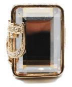 Christian Dior(クリスチャン ディオール)の古着「ストーンリング」|ゴールド