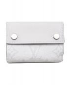 LOUIS VUITTON(ルイヴィトン)の古着「19SS/ディスカバリーコンパクトウォレット/3つ折り財布」|ホワイト