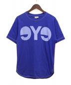 eye JUNYA WATANABE COMME des GARCONS MAN(アイ ジュンヤワタナベ コムデギャルソンマン)の古着「プリントTシャツ」|ブルー