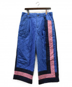 CRAIG GREEN(クレイグ グリーン)の古着「キルティングパンツ」|ブルー