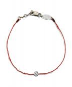 red line(レッドライン)の古着「ダイヤモチーフブレスレット」|レッド