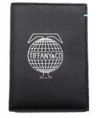 TIFFANY & Co.(ティファニーアンドコー)の古着「19SS/パスポートケース」|ブラック