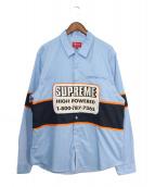 Supreme(シュプリーム)の古着「19AW High Powered Work Shirt」|スカイブルー