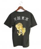 WACKOMARIA(ワコマリア)の古着「STANDARD CREW NECK T-SHIRT」|ブラック
