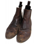 PREMIATA(プレミアータ)の古着「ヴィンテージ加工ブーツ」|ブラウン