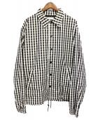 FACETASM(ファセッタズム)の古着「コーチジャケット」|ホワイト×ブラック