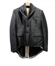 COMME des GARCONS(コムデギャルソン)の古着「AD2010/レイヤードジャケット」 ブラック