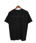 ALYX(アリクス)の古着「フロントジップTシャツ」 ブラック