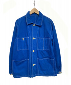 ARTS&SCIENCE(アーツ&サイエンス)の古着「ワークジャケット」 ブルー