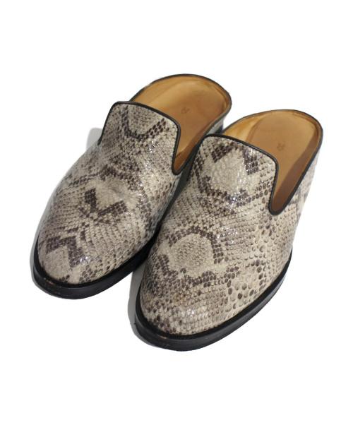 Hender Scheme(エンダースキマー)Hender Scheme (エンダースキーマー) ミュール ベージュ サイズ:2の古着・服飾アイテム
