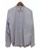 COMME des GARCONS HOMME(コムデギャルソンオム)の古着「ストライプシャツ」|ブルー×ホワイト