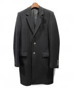 ami(アミ)の古着「カシミア混チェスターコート」 ブラック