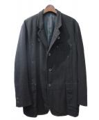 YohjiYamamoto pour homme(ヨウジヤマモトプールオム)の古着「タブ付オーバーサイズジャケット」|ブラック