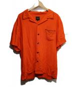 RATS(ラッツ)の古着「レーヨンS/Sシャツ」 オレンジ